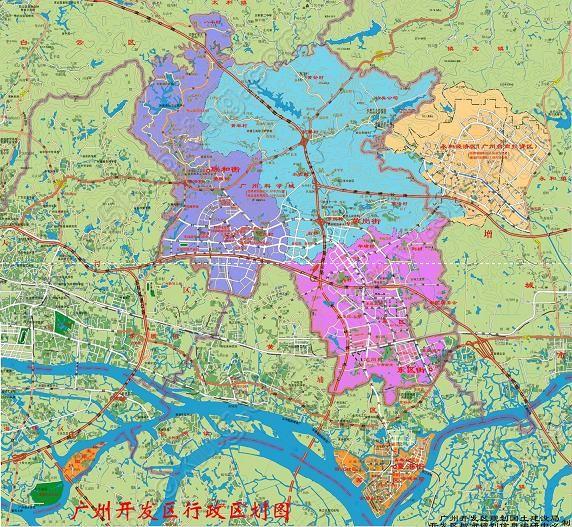 广州萝岗区地图及萝岗区介绍